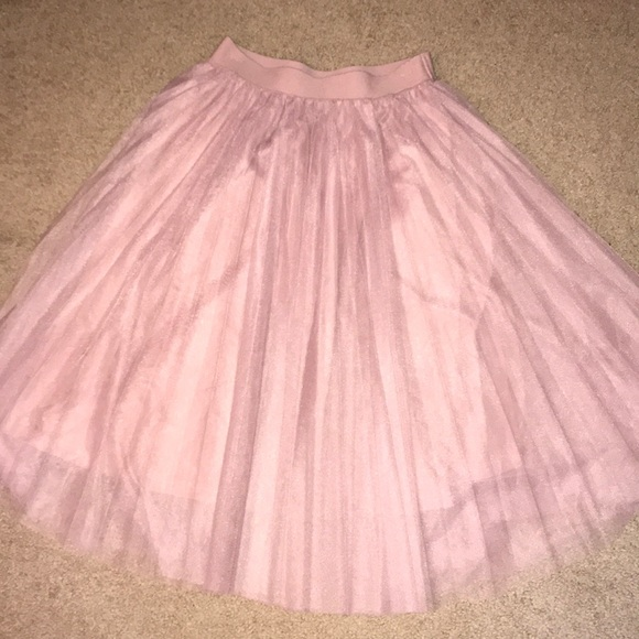 Charlotte Russe Dresses & Skirts - Last Chance - Pretty in Pink Tulle Skirt sz M